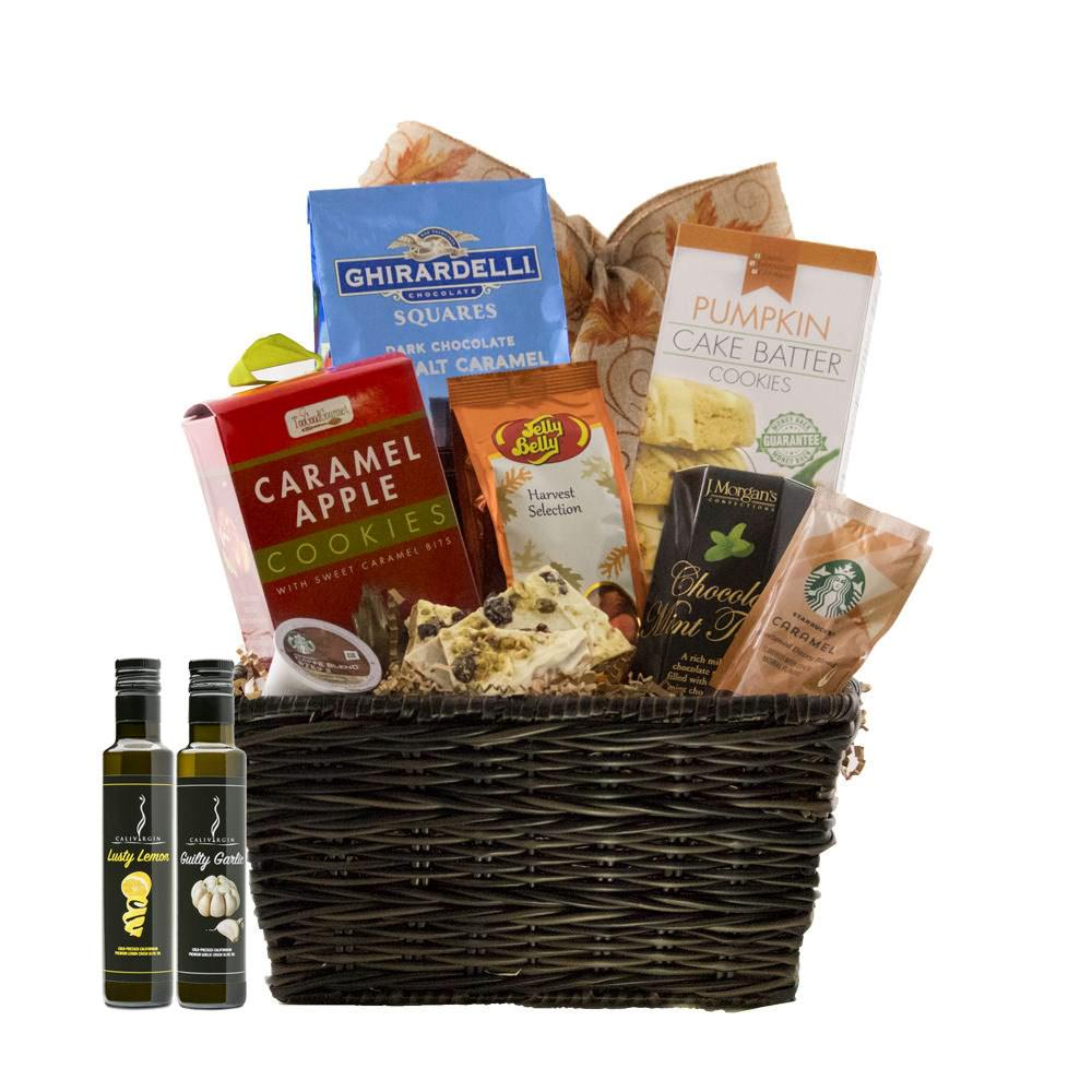 Autumn Harvest Gift Basket