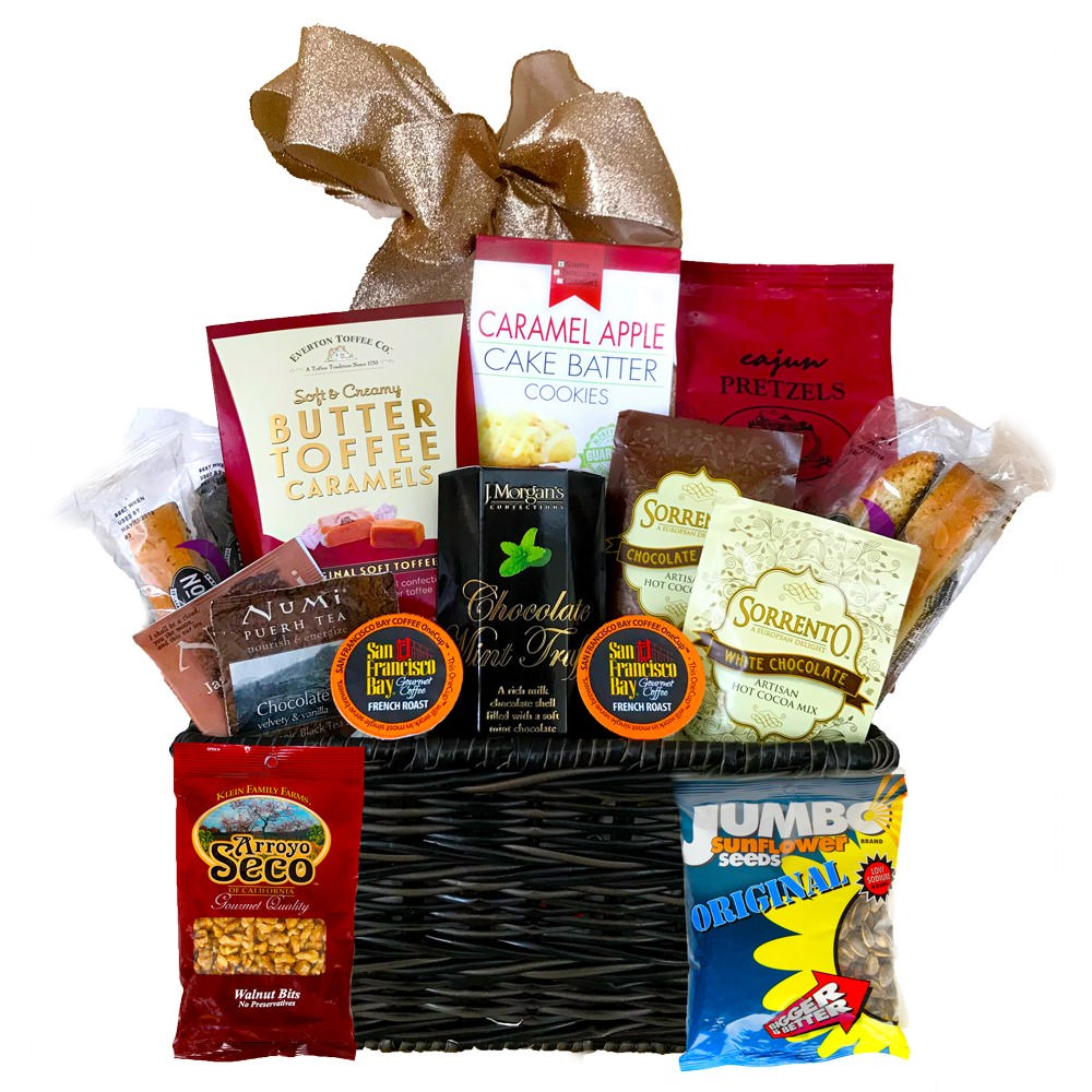 Break Room Bonanza Gift Basket