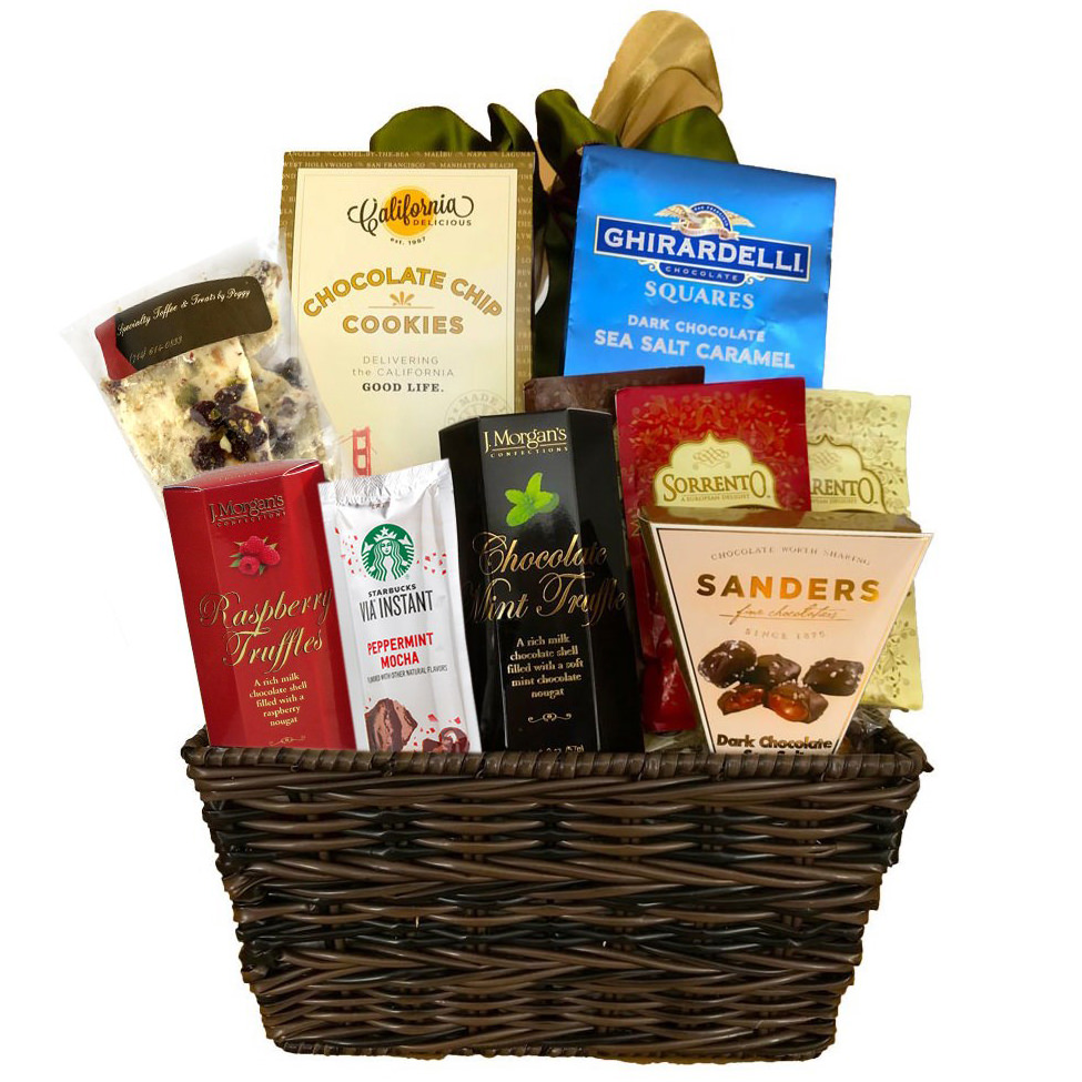 Chocolate Heaven Gift Basket