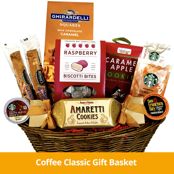Coffee Clasic Gift Basket