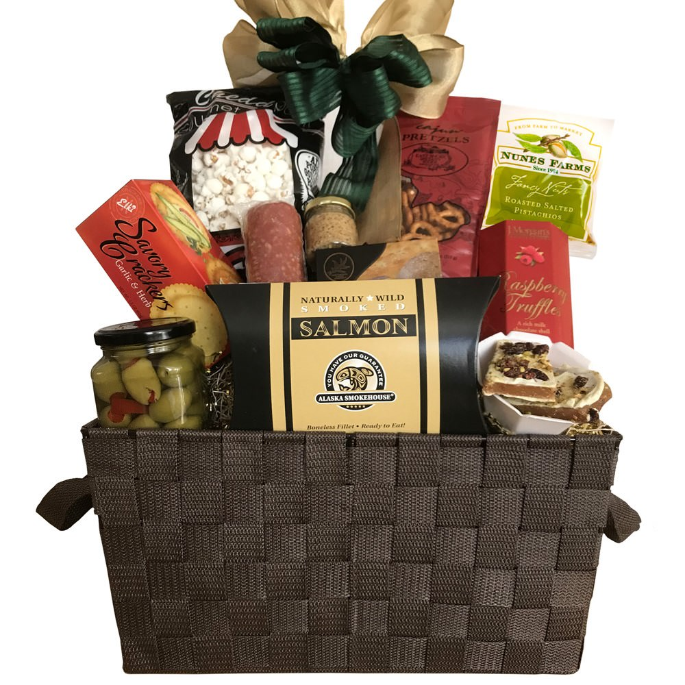 Executive Gourmet Gift Basket